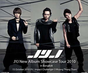 JYJ New Album Showcase in Bangkok