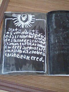 death note inside