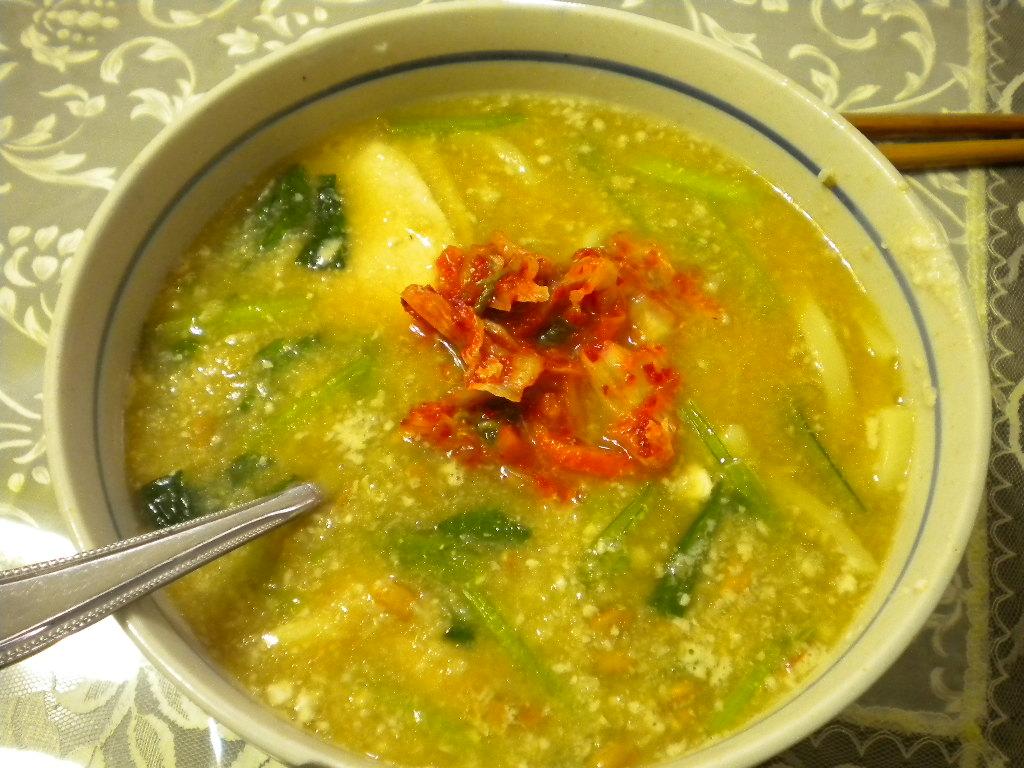 korean miso soup
