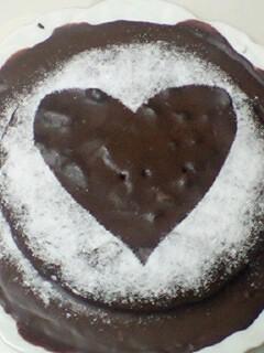 choco cake w deco