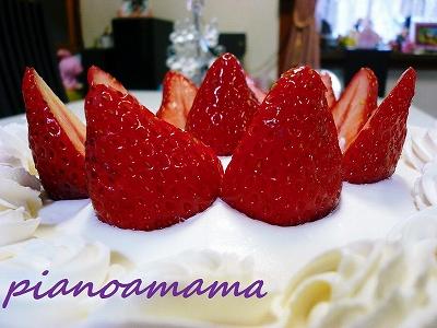 バアバ誕生日ケーキアップ