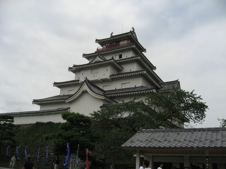 20090830会津若松城01