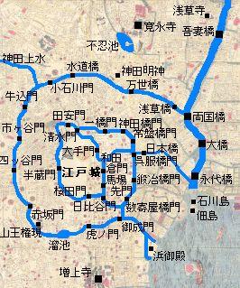 江戸城map