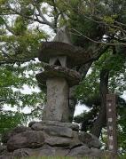柳川城跡碑
