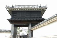高知城 黒鉄門