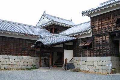 松山城 二の門南櫓