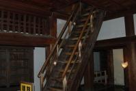 松山城 階段