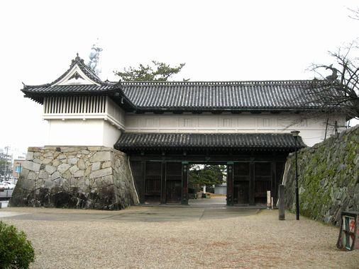 佐賀城・鯱の門 001