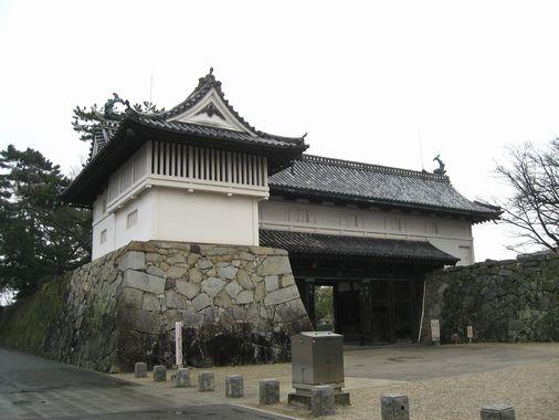 佐賀城・鯱の門 003