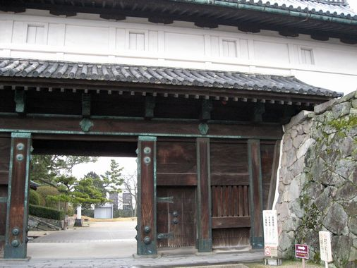 佐賀城・鯱の門 002