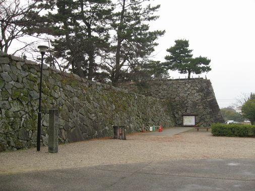 佐賀城・石垣