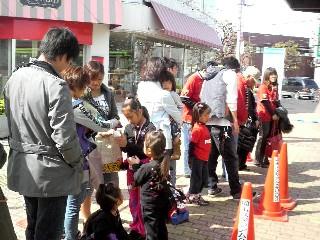 バス待ち東浦和