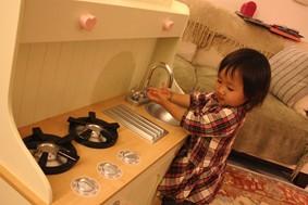 誕生会キッチン