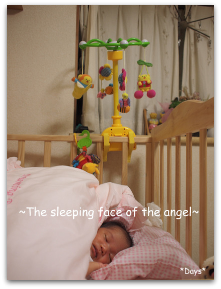 天使の寝顔