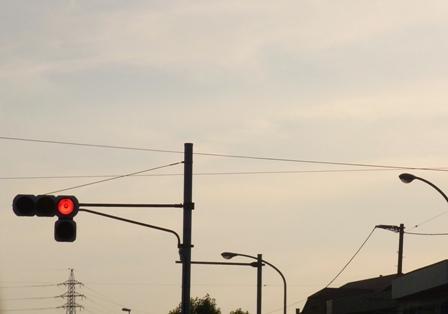 100701 赤信号。