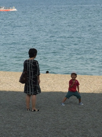 100919 母と息子。