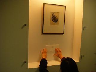 1階ごとに1作品展示
