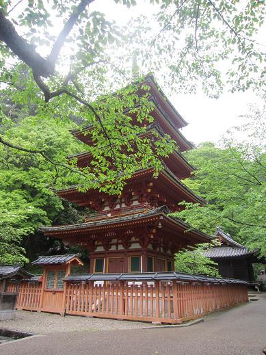 長谷寺 五重の塔