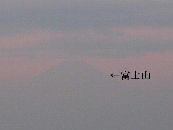 かすかに富士山1