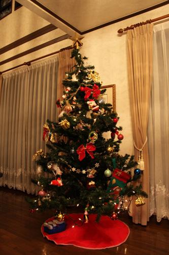 クリスマスツリー001