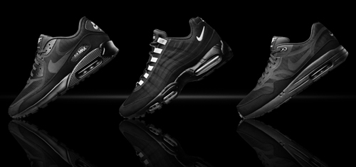 "Nike Air Max Tape ""Black Reflective"" Collection"