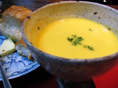 ミックス野菜の冷製スープ
