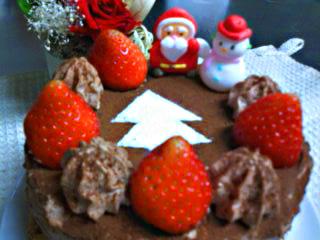 2009クリスマスケーキ2