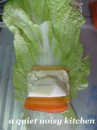 ロール白菜・巻き方