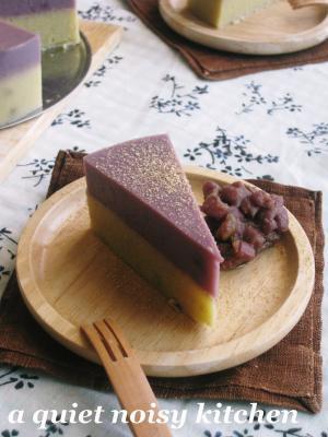 二色のスイートポテトケーキ2