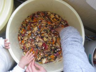 手作り酵素秋