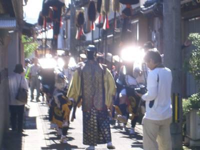 富岡神社秋祭り