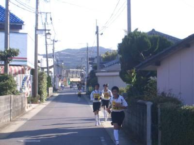 熊本県・天草の酒老松商店苓北町体力作りマラソン大会