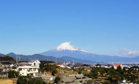 富士山、小
