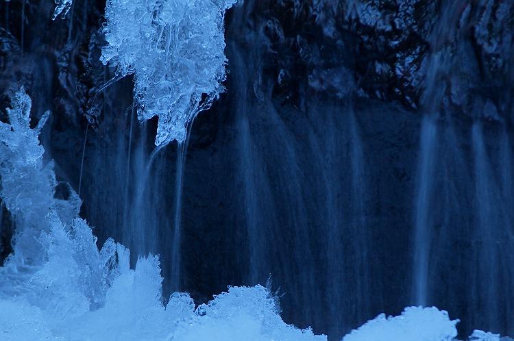 氷結の滝 ~タイラ沢の大滝 4~