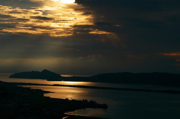 天橋立の夜明け
