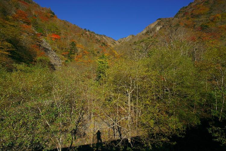 秋染まる大谷崩 2