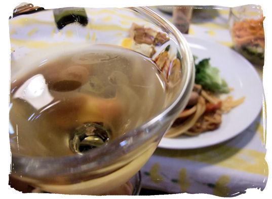 ワイン美味しい~
