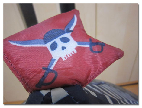 海賊テント。1