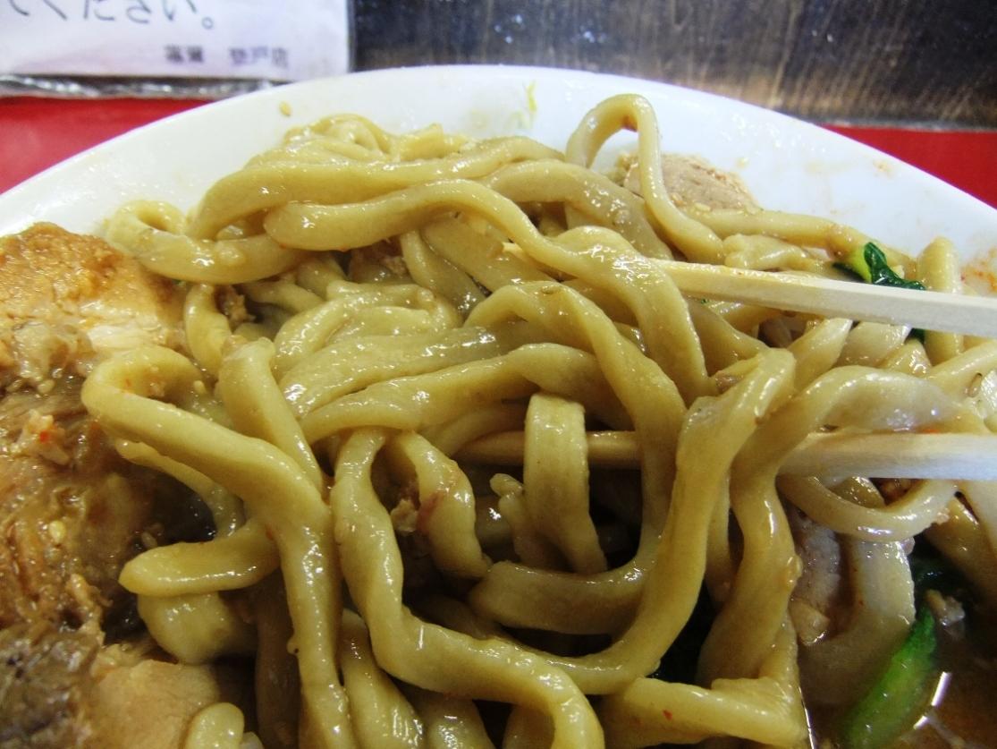 蓮爾 登戸店:麺 10.12.29