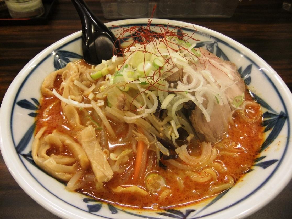 味噌や:味噌オロチョンラーメン(3辛) 11.01.28