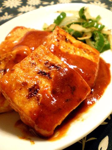 コーリアンビストロ豆腐ステーキ