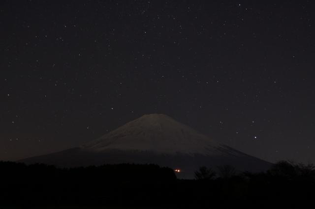 11・19 夜の富士