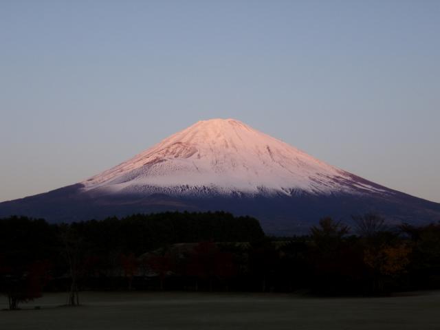 11・20 朝富士