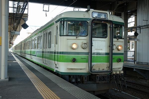 @直江津駅