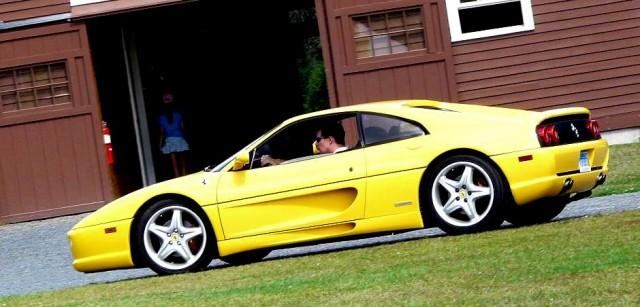 F355 yellow