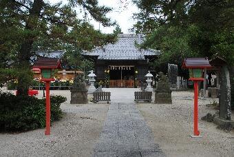 「幸手上高野神社」2010秋001