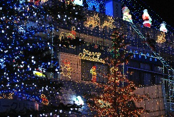 クリスマスイルミネーション002