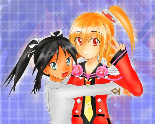 エミリア&ルッキーにkai-
