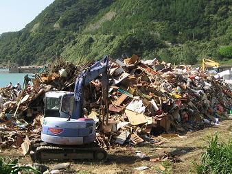 ゴミの山 001