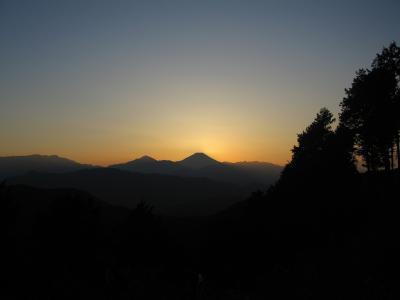 富士山シルエット6